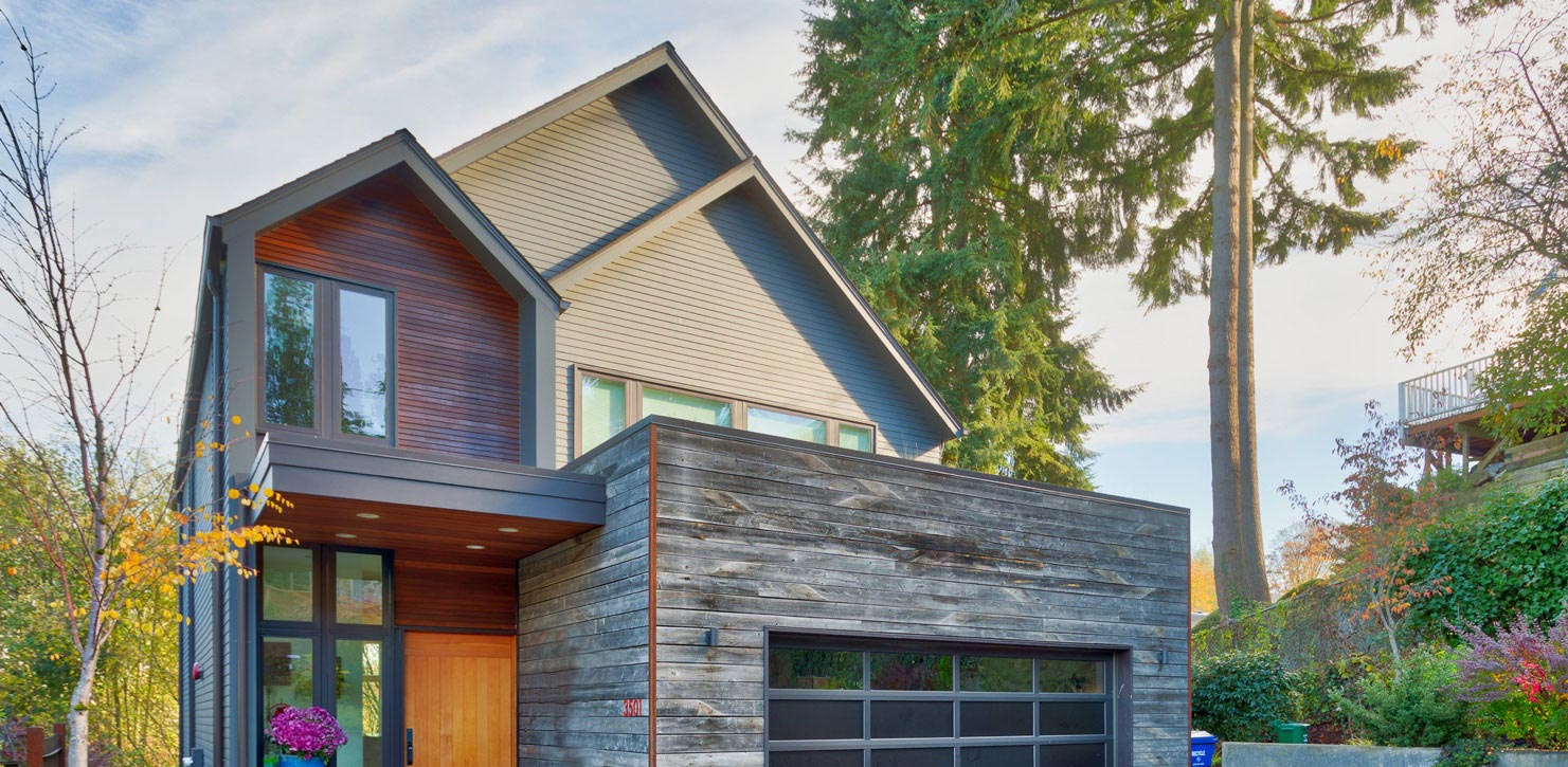 Re Claimed Wood siding installation in Seattle, WA